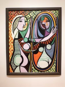 Girl before a mirror, 1932