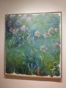 Agapanthus, 1914-26 (Claude Monet)