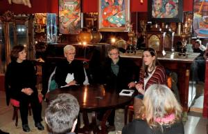 Marta Parde de Vera, Rosa Pereda, Juan Ramón Patiño y Érica Ferreiro