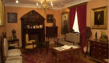 Estancia de la Casa museo Emilia Pardo Bazán
