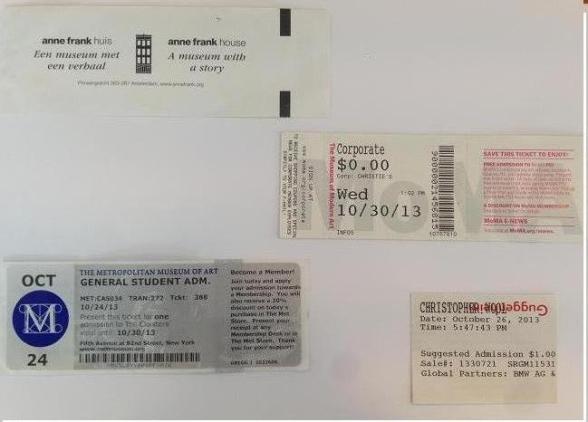 tickets blancos