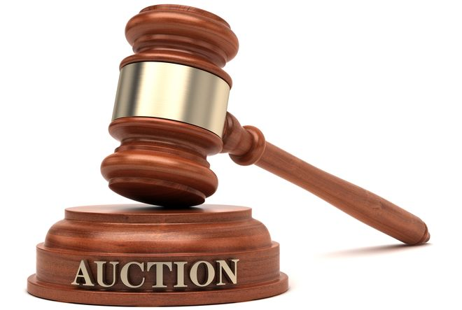 Auction Gavel  Public Sale